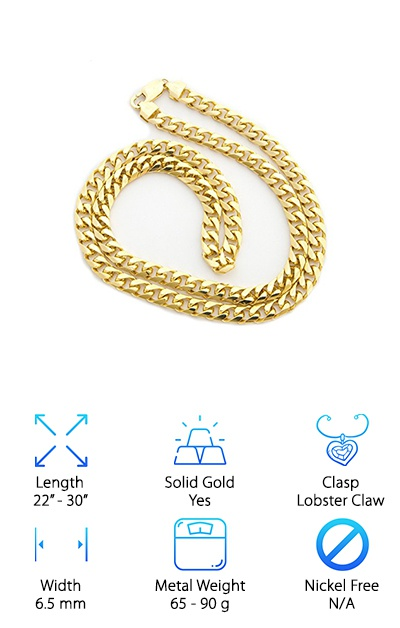 Best 14k Gold Cuban Link Chains