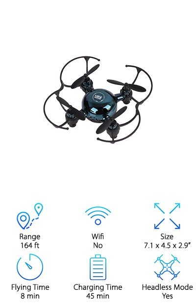 Vandora Mini Pocket Drone