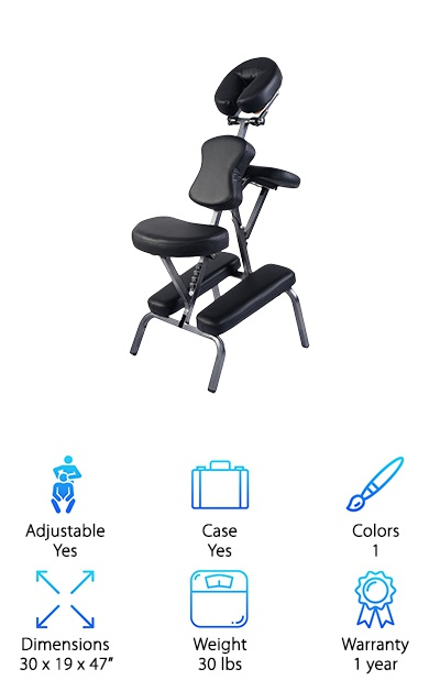 Giantex Portable Leather Chair