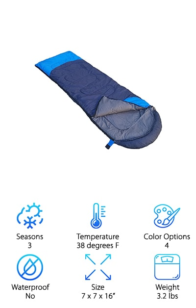 Outdoorsman Lab Sleeping Bag