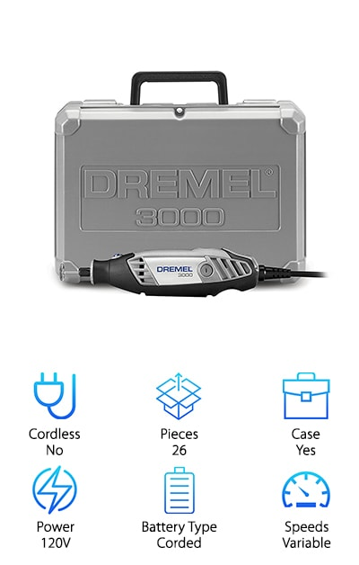 Dremel 3000-1/25 Tool Kit