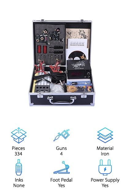 Shark Professional Tattoo Kit