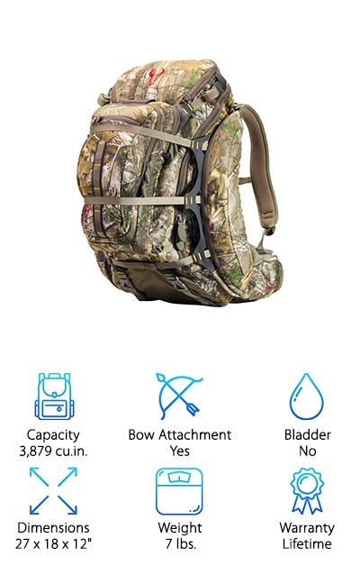 Badlands Camo Hunting Pack
