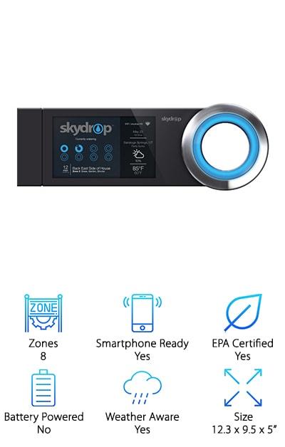 SkyDrop Wifi Sprinkler Controller