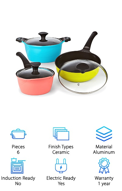 Cook N Home Ceramic Set