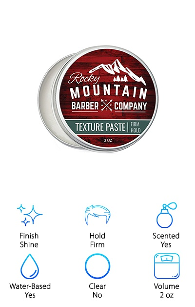 Rocky Mountain Barber Co. Paste