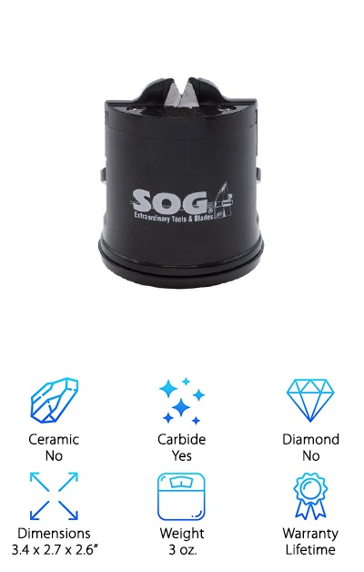 SOG Countertop Sharpener