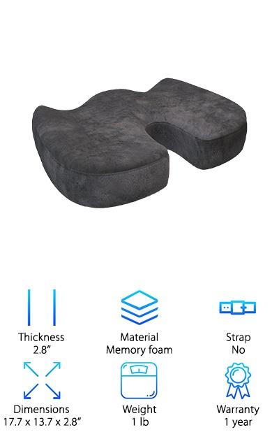 Ziraki Coccyx Seat Cushion