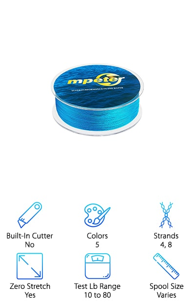 Mpeter Armor Braided Line