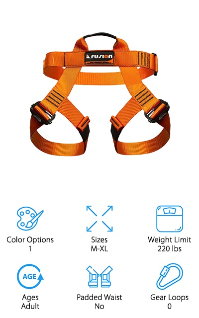 Fusion Half Body Harness