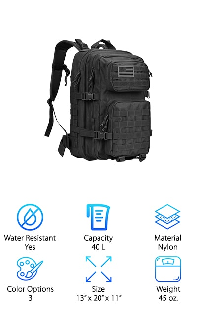 Reebow Gear Tactical Backpack. Top Pick f3644ca9be56b