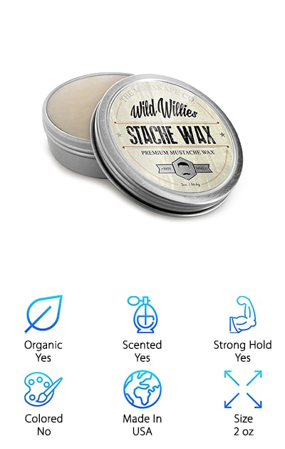 Wild Willie's Mustache Wax