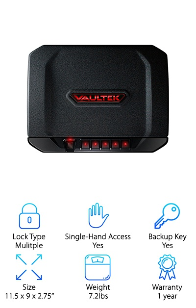 VAULTEK VT20i Biometric