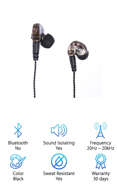 LyxPro ERP-10 In-Ear Monitor