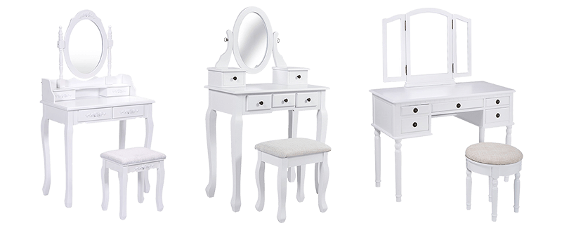 Best White Makeup Vanities