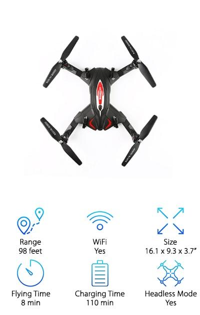 LeaningTech Wifi Drone