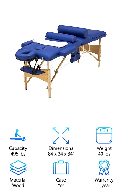 GMS Portable Massage Table