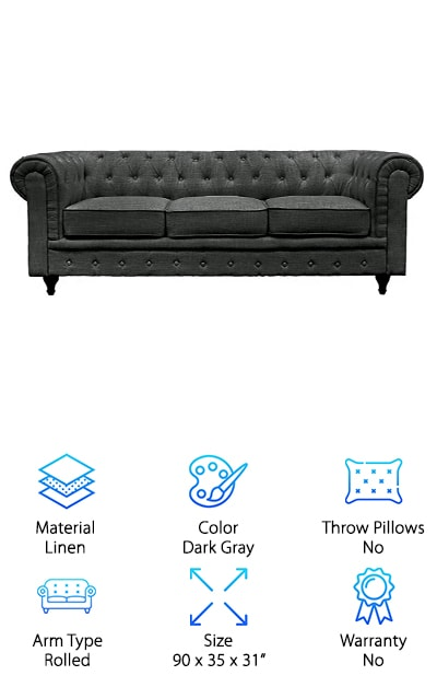 BD Home Furnishings Classic Sofa
