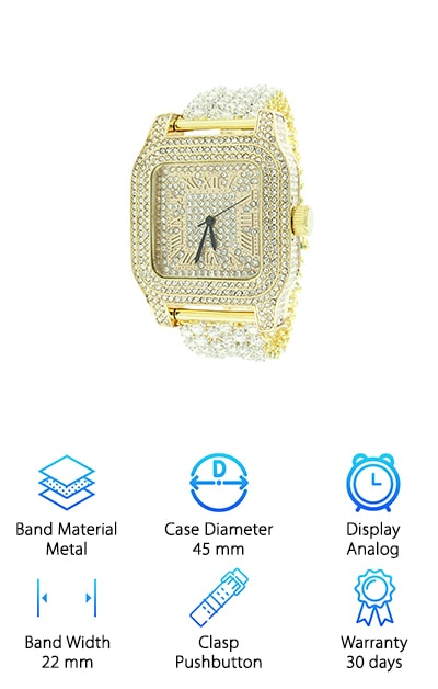 Master of Bling Watch