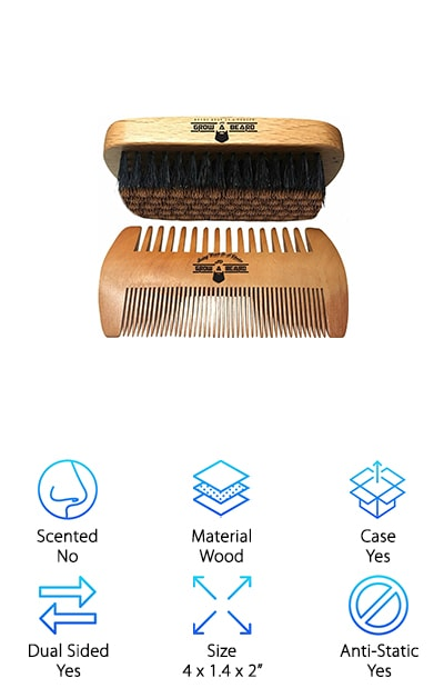 Grow a Beard Comb Set