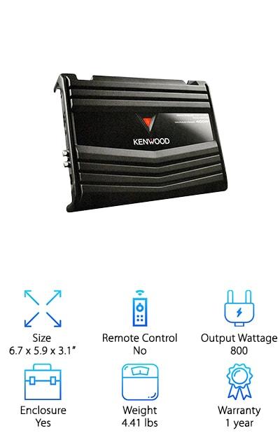 Kenwood KFC-W112S Amp