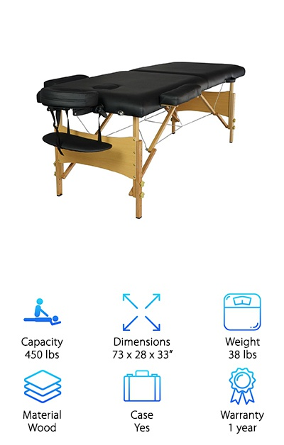BestMassage Portable Table