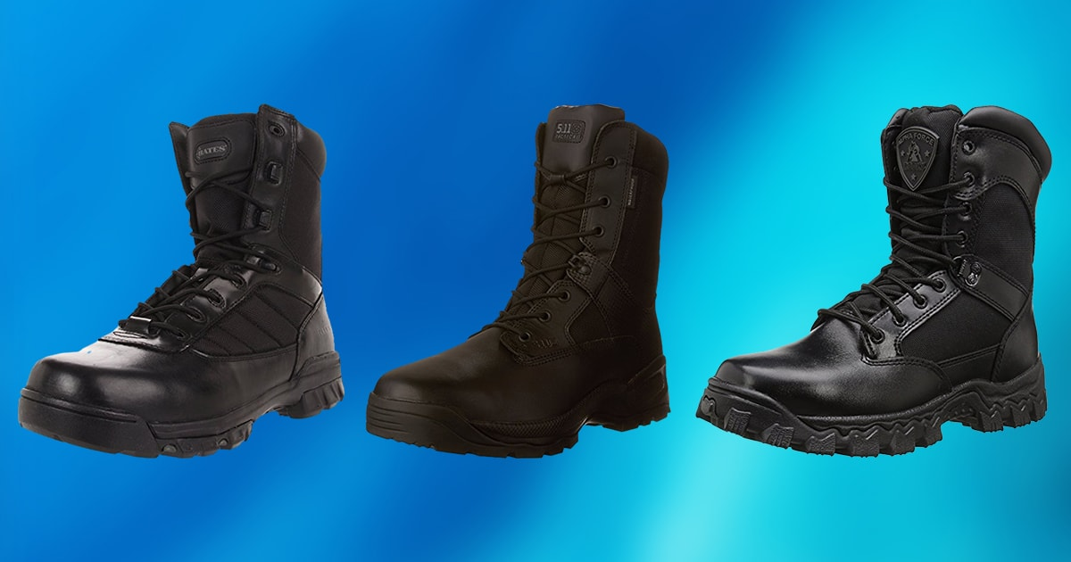 9bd42c12285 10 Best Police Boots 2019 [Buying Guide] – Geekwrapped