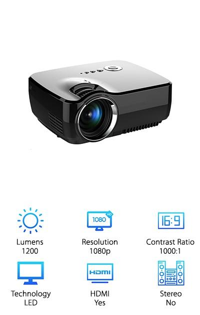 Zenhon Mini Video Projector