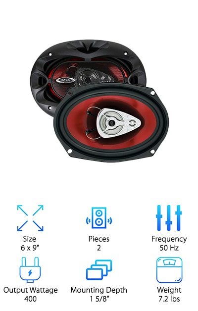 BOSS Audio CH6930 Car Speaker