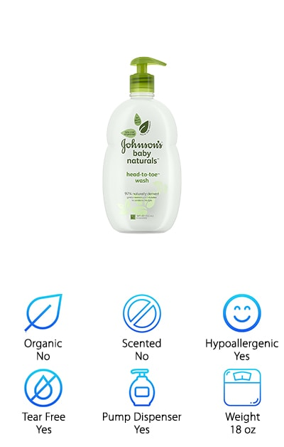 JOHNSON'S Natural Baby Wash