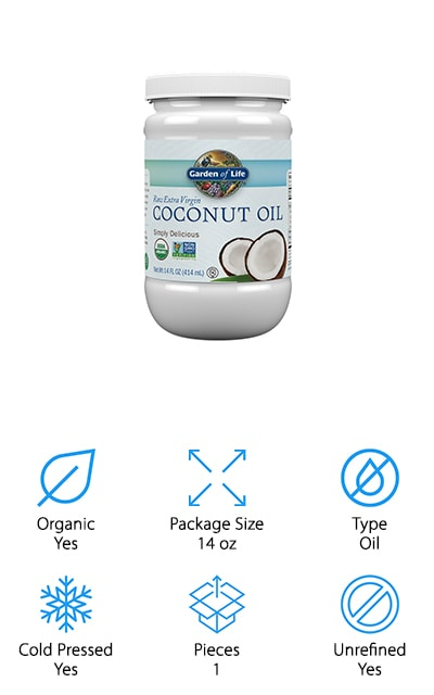 Garden of Life Coconut Oil