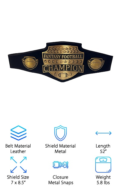 Decade Awards Fantasy Football Belt