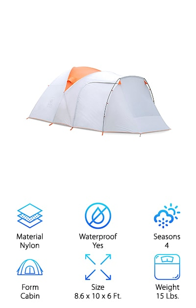 EXIO Compact Backcountry Tent
