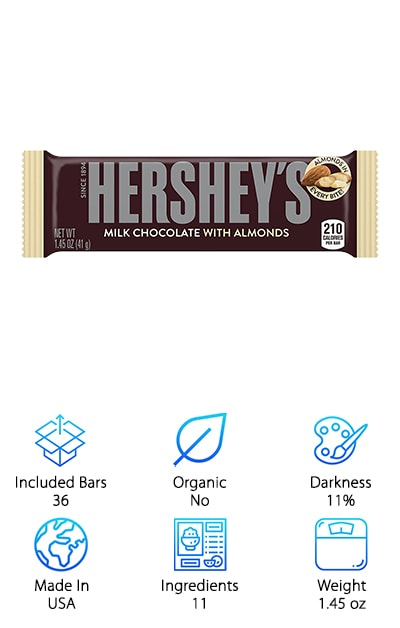 HERSHEY'S with Almonds