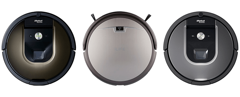 Roomba VS iLife Vacuum Comparison