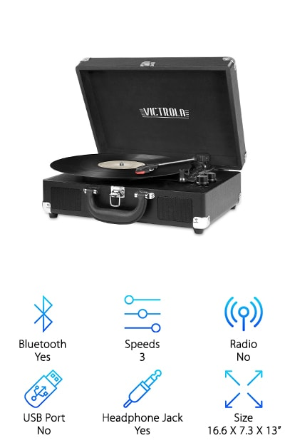 Innovative Victrola Turntable