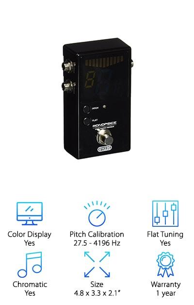 Monoprice 611220 Pedal Tuner