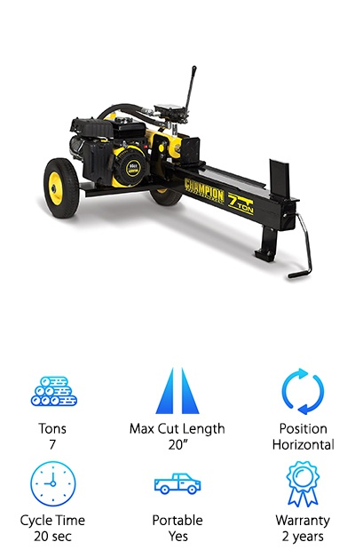 Champion 90720 Log Splitter