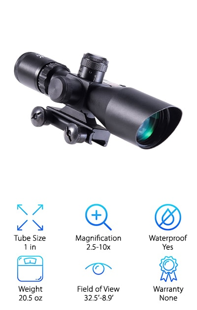 Pinty Tactical Rifle Scope