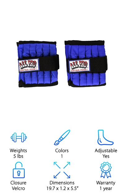 All Pro Ankle Weights