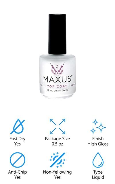 Maxus Nails Top Coat