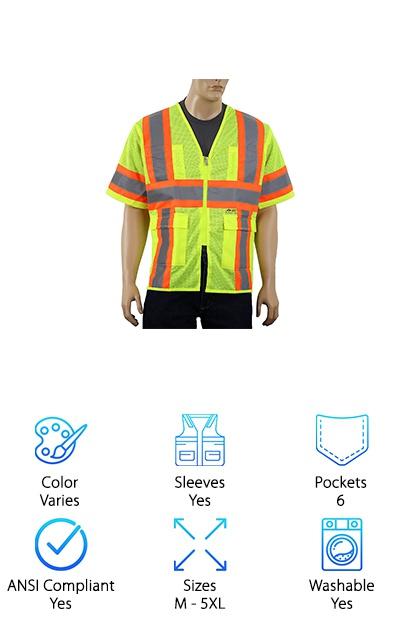 Safety Depot ANSI Vest