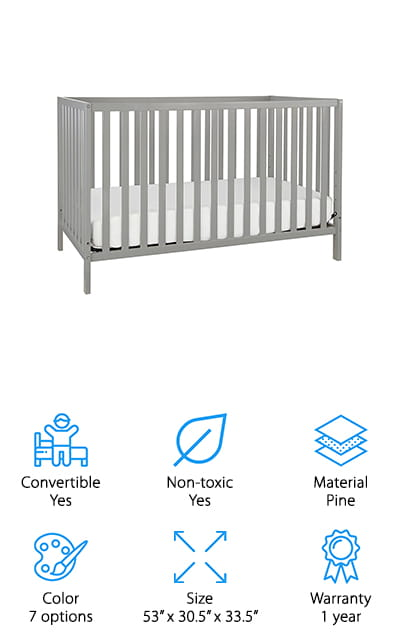 Union Convertible Crib