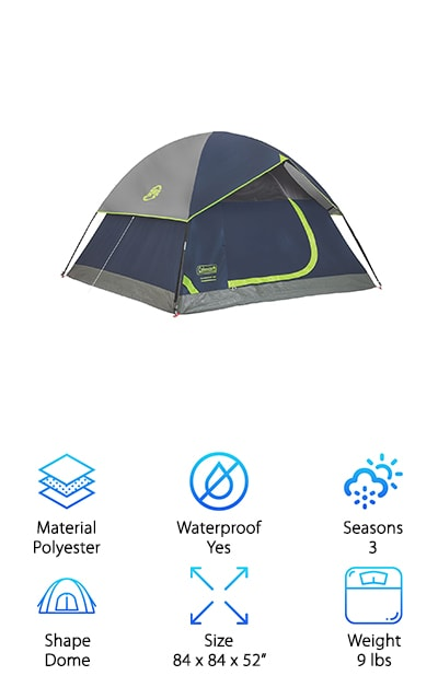 Best Three Person Tents