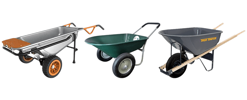 Best Wheelbarrows & Yard Carts