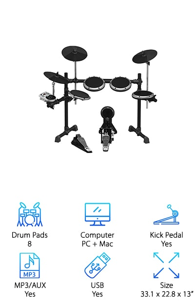 Behringer XD8USB Drum Set