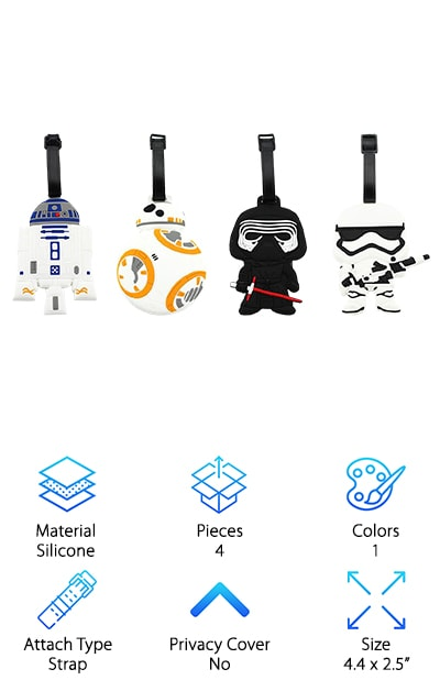Finex Star Wars Luggage Tags