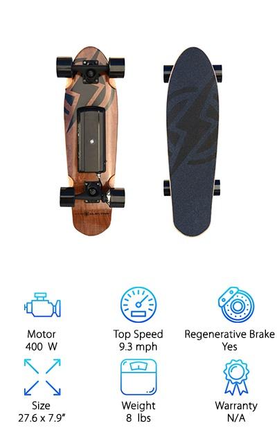 Atom Longboards H.4 Skateboard