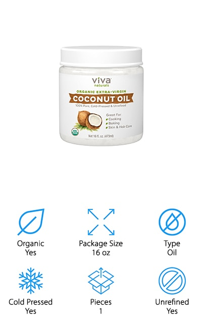 Best Coconut Oils for Beards and Hair