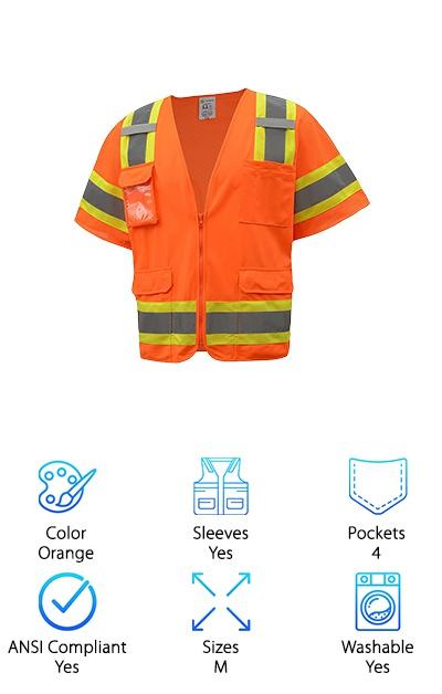 CJ Safety Class 3 Vest